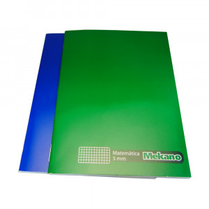 CUADERNO COLLEGE MAT 5MM 100 HJS MEKANO
