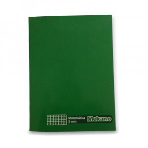 CUADERNO COLLEGE 80 HJS MAT 5 MM LISO MEKANO